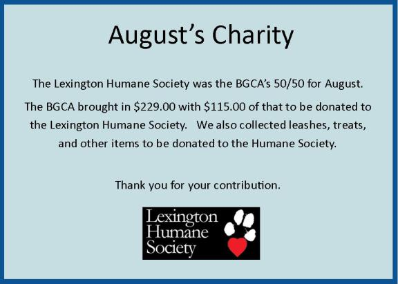 August Charity