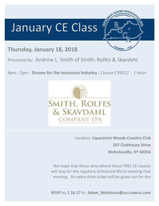 January CE Class
