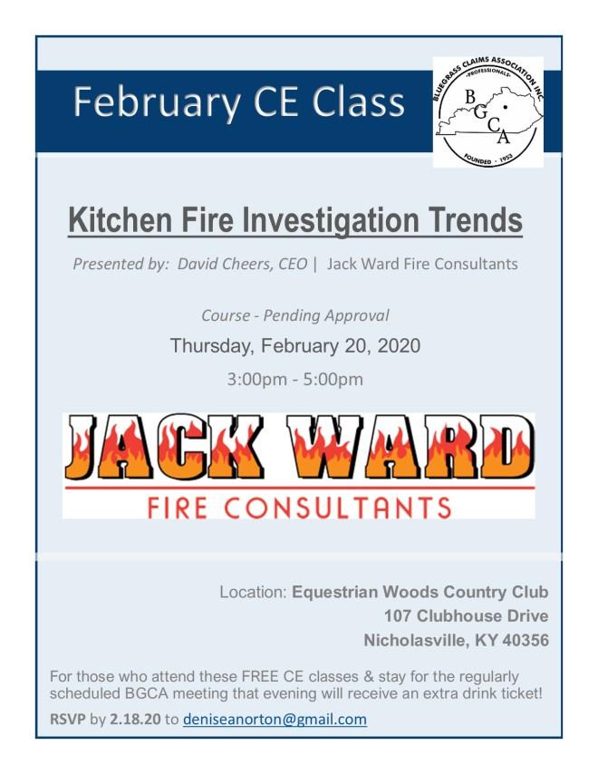 February CE Class